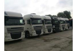 اعطای نمایندگی فروش و تعویض روغن کامیون های داف DAF