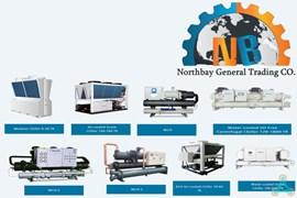 اعطای نمایندگی واردات و فروش چیلر و خنک کننده های خانگی و صنعتی Northbay نورت بی