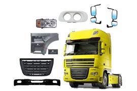 اعطای نمایندگی فروش قطعات بدنه کامیون های نسل قدیم و نسل جدید دافDAF