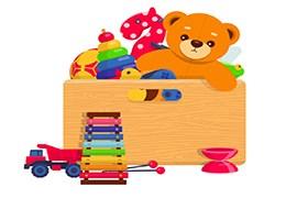استخدام بازاریاب فعال توزیع بسته های خلاقیت برای کودکان