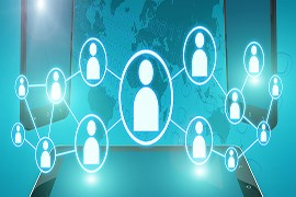 بازاریاب فعال با فن بیان عالی در زمینه فعالیت شرکت مالیاتی