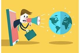 استخدام بازاریاب در زمینه اخذ سفارش برنامه های رادیویی و تلوزیونی مشارکتی